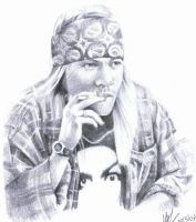Axl Rose 3 by nataliofman