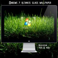 Win 7 Ultimate Grass Wallpaper by blackboy993