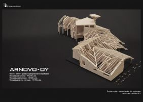 Model of private house by Pavel-Rentone