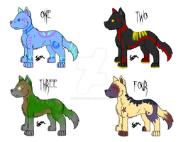 Free Doggy Adopts :Closed: by RingtailFox