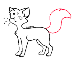 FREE Simple Cat Lineart by Wreaux