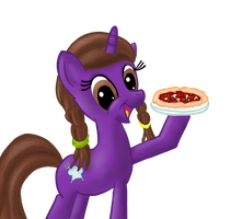 It's Dashell the Pizza Pony by Quexinos
