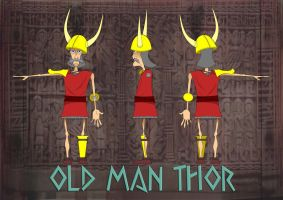 Old man thor by tcw295