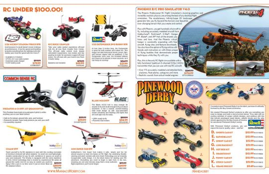 Maniacs Hobby Boy Scouts Event Catalog - Pages 2-7 by jPhive