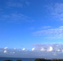 The Clouds and Me - The River Tejo-2012-24-09-01.1 by Kay-March