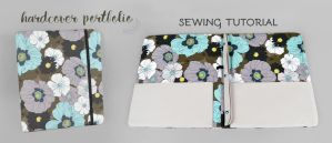 Hardcover Portfolio Sewing Pattern by SewDesuNe