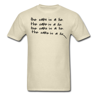 Portal Cake Is A Lie Shirt by Enlightenup23