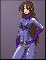 Purple Vixen hench girl by Shabazik