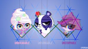 unbreakable,unthinkabel,unstoppable by shaynelleLPS