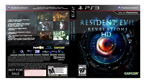 Resident Evil : Revelations HD [PS3 Fan Cover Art] by Therealmrox2