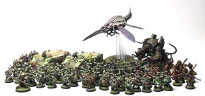Chaos Space Marines (Nurgle) by jstncloud