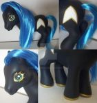 My little Pony Custom Lt. Zippy a star trek pony by BerryMouse