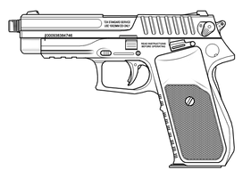 TDX pistol by sharp-n-pointy