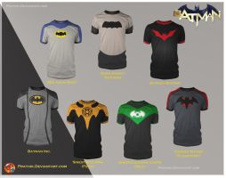 Batman Shirts! by prathik