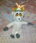 King Julien plushie by Edness-Madness