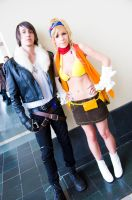 Squall and Rikku, Final Fantasy by EminenceRain