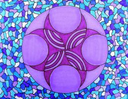 circle card 77 by Lou-in-Canada