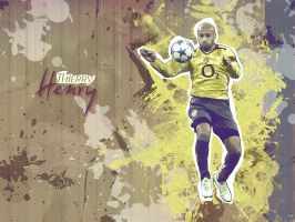 Thierry Henry by metalhdmh