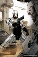 Robocop Road Trip 01 Colors by FabianoNeves