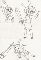Fionna Doodles by Catula