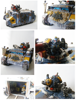 space wolves rhino by 40kPAINTER