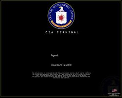 CIA main log in screen by Vinny2010