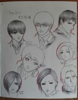Tokyo Ghoul  by ZQ42