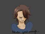 Never good enough by Dodo-pink