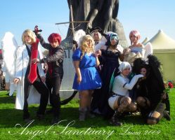 Angel Sanctuary Group by Natsumi723