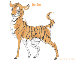 Tiger Pelt by Vilmy