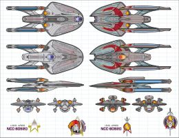 U.S.S. Ares - Vs - I.S.S. Ares by stourangeau