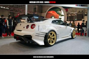 Nissan Skyline GTR R35 ANGELDESIGN Rear by ADBodykits