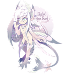 [CLOSED] Serafin Auction 15: Dusted Rose Pearl by dracooties