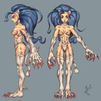 felicia model sheet by HecM by FeliciaClub