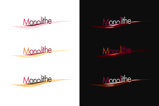 Monolithe Logotype by Firless