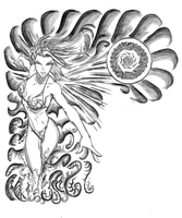 Soulfire Grace Tattoo by Dinoforce