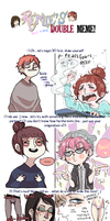 Double Meme by pearsfears