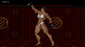 Sanya, anvil's and dumbbell's show 046 by eurysthee