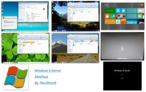 windows 8 Server Skin Pack 2.0 X86 by TheDhruv