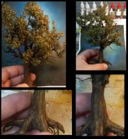 Metal wire trees by Makingscalemodels