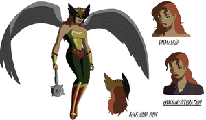 DC Animated Movie: Hawkgirl by AMTModollas