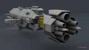 B5 Warlock Destroyer WIP 9 by 2753Productions