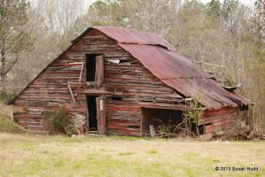 Old Delapidated Barn by Rjet33