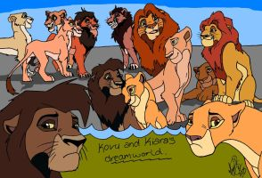 Kovu and kiara's dreamworld... by ArtistMaz