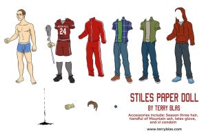 Stiles paper doll by TerryBlas