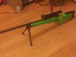 Airsoft TCS L96 A2 Sniper Rifle by Luckymarine577
