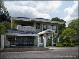 EXTERIOR RESIDENCE 4 by ARCHJUN