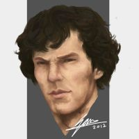 Benedict Cumberbatch by SAM---tan