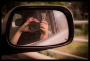 Self-shot in the mirror by NatalieKhairallah