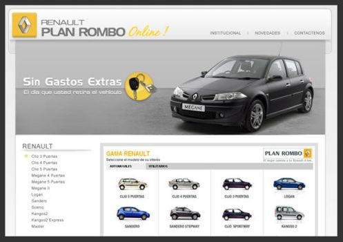 Renault Plan Rombo Online by S0LANGE
